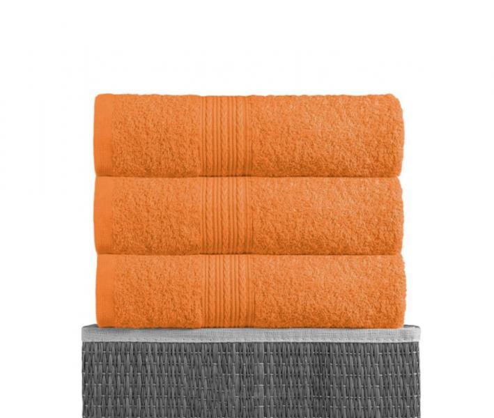 Полотенце махровое Байрамали Оранжевый