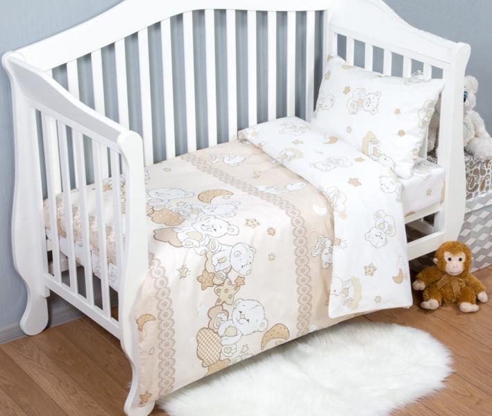 Комплект постельного белья Арт-постель 922 поплин Медвежата