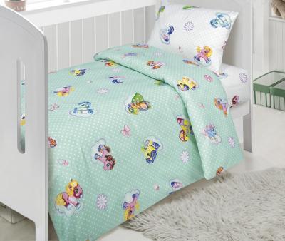 Комплект постельного белья Арт-постель 922 поплин Бусинка зеленый