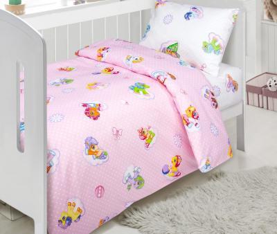 Комплект постельного белья Арт-постель 922 поплин Бусинка розовый