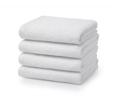 Полотенце белое 0000 гостиничное