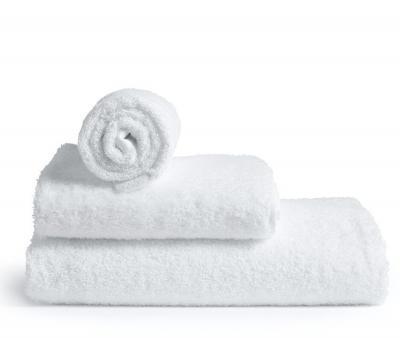 Полотенце махровое без бордюра 1000 Белый