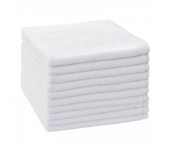 Полотенце белое махровое 450 гр