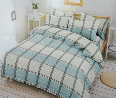Комплект постельного белья Happy Night Бирюзовая клетка