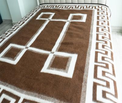 Одеяло шерстяное Греция бел-тер