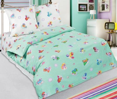 Комплект постельного белья Арт-постель 912 поплин Бусинка зеленый