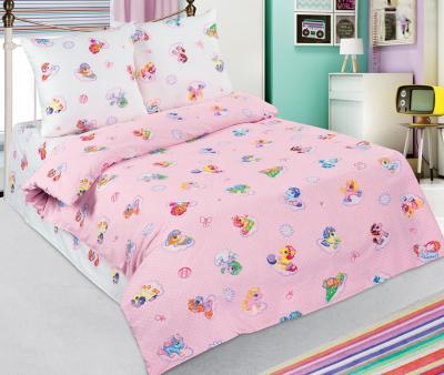 Комплект постельного белья Арт-постель 912 поплин Бусинка розовый