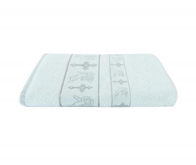 Крестильное полотенце Ангел Серебро
