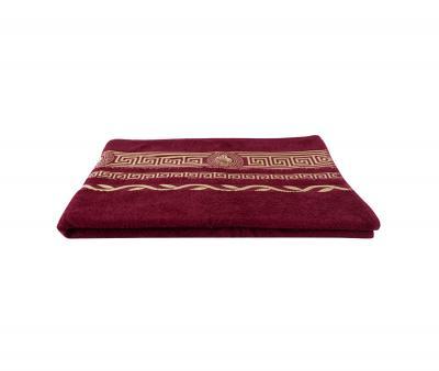 Полотенце Версаче 1051 Бордовый