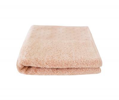 Полотенце Miss Cotton жаккард Оранжево-розовый