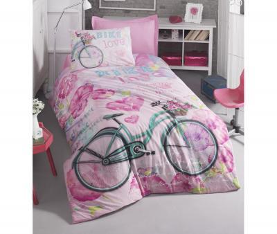 Комплект постельного белья Коттон Бокс ранфорс Bike Pembe