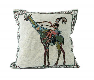 Наволочка декоративная гобелен принт Жираф