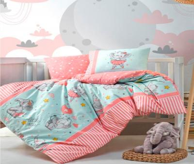 Комплект постельного белья детский Коттон Бокс в кроватку Elephant Pembe