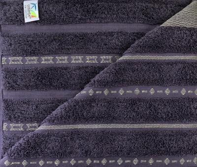 Полотенце махровое Cestepe CIZGILI Фиолетовый