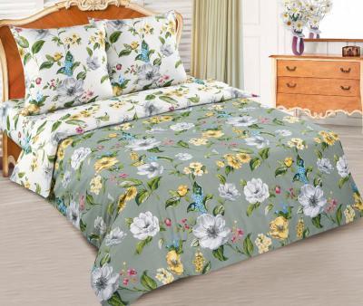 Комплект постельного белья  с простынью на резинке Арт-постель 904/914 поплин Жаклин
