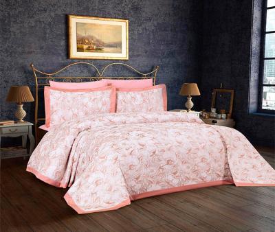 Комплект постельного белья Lotus Home+покрывало Jessica Pink