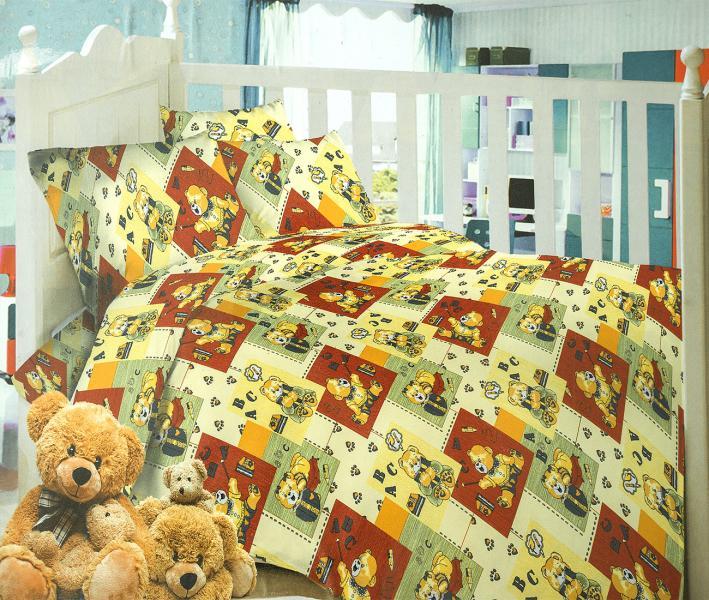 Комплект постельного белья Home Textille Мишки-лапки