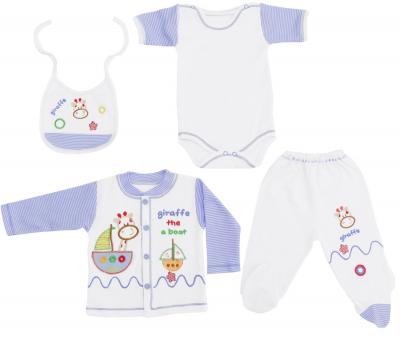 Комплект для новорождённых 10 предметов Safak Kids синий