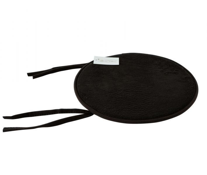Подушка круг с пеной на стул Коричневый