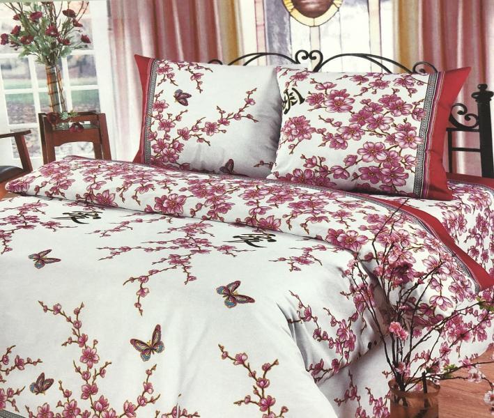 Комплект постельного белья Home Textile Сакура