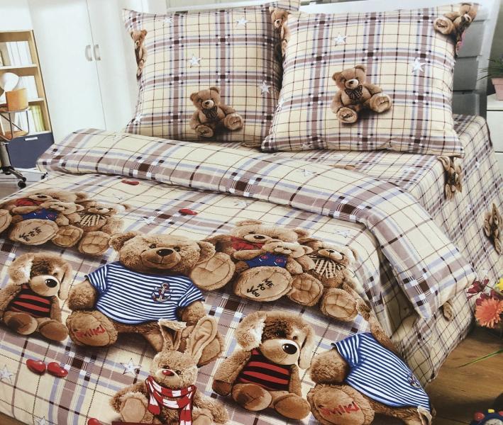 Комплект постельного белья Home Textile Поптыжки