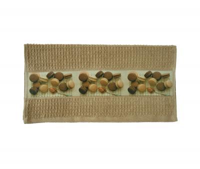 Полотенце кухонное махровое Макаруны