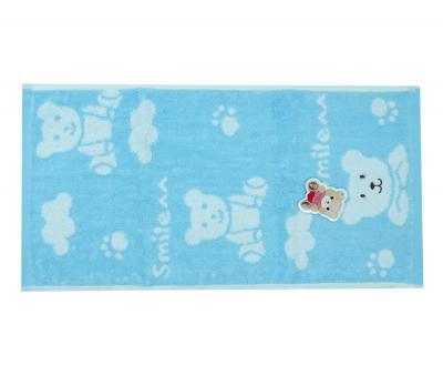 Полотенце детское махровое 25х50 Bear Голубое