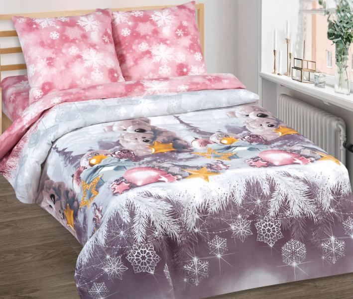 Комплект постельного белья Арт-постель поплин Ласковый мишка