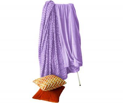 Плед Le Vele Розочка Purple