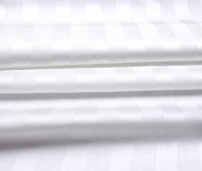 Сатин отбеленный 2x2 см страйп 130 гр 240 см х/б Китай Рулон