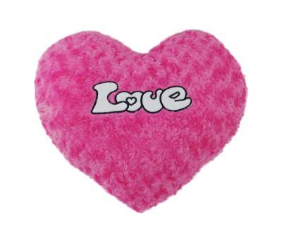 Подушка-игрушка сердце Love Пурпурное