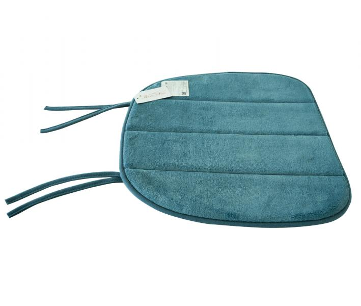 Подушка закругленная с пеной на стул Морской