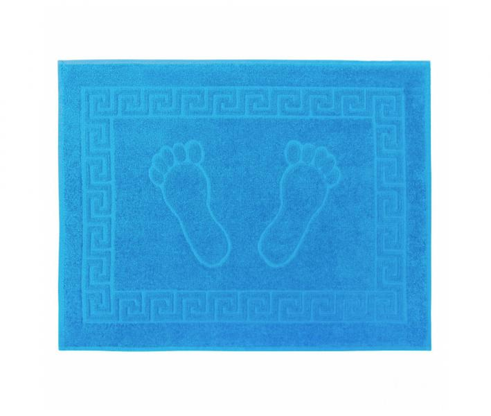 Коврик для ног 650 гр Голубой