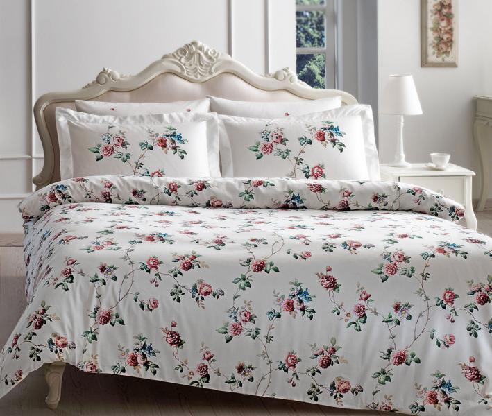Комплект постельного белья Tivolyo Home Сатин принт Roseland