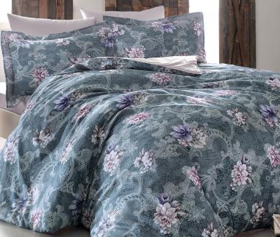 Комплект постельного белья Tivolyo Home Сатин принт Margaret
