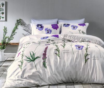 Комплект постельного белья Tivolyo Home Сатин принт Frezia