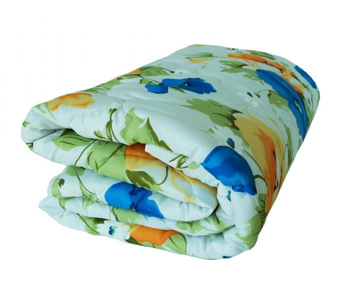 Одеяло Полиэфир 200 гр Крупные цветы