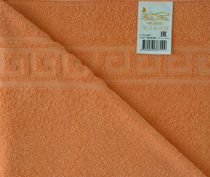 Полотенце Гладкокрашеное 1035 Аиша Оранжевый