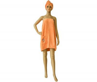 Набор для бани и сауны Оранжевый