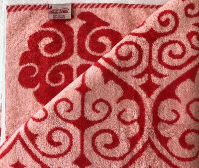 Полотенце махровое Пестроткань Красный