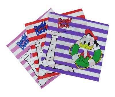 Платок детский Дональд Дак 10 шт в упаковке