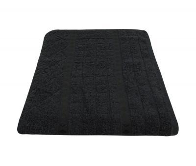 Полотенце 450 гр Дорук Ромб Чёрный