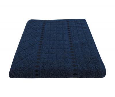 Полотенце 450 гр Дорук Ромб Тёмно-синий