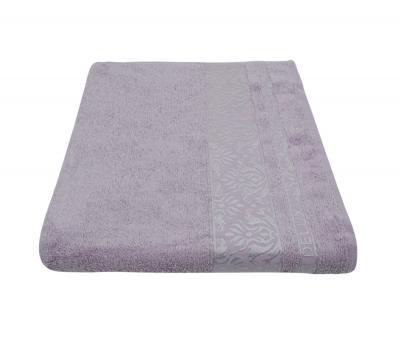 Полотенце 450 гр Дорук Бамбук Вензеля Розово-фиолетовый