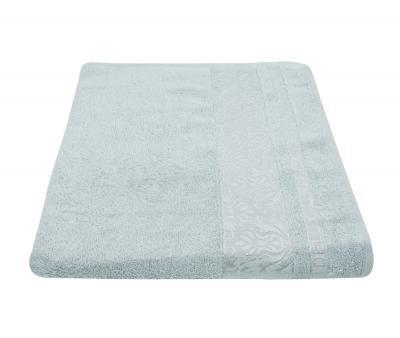 Полотенце 450 гр Дорук Бамбук Вензеля Светло-серый