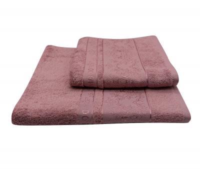 Полотенце Miss Cotton жаккард Розовый