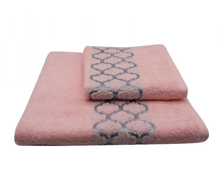 Полотенце махровое Дрезден Светло-розовый