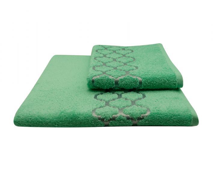 Полотенце махровое Дрезден Зелёный