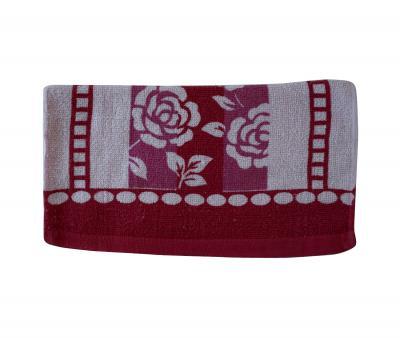 Полотенце кухонное (33x74) Красный цветок