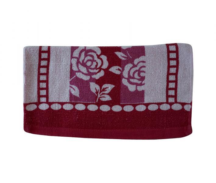 Полотенце кухонное Красный цветок